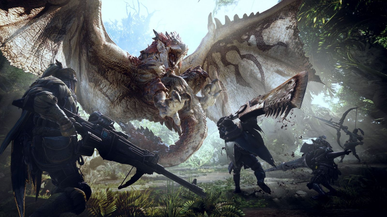 Bom tấn game săn quái vật Monster Hunter World