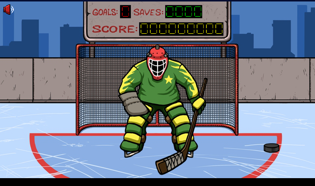 Hockey Suburban Goalie