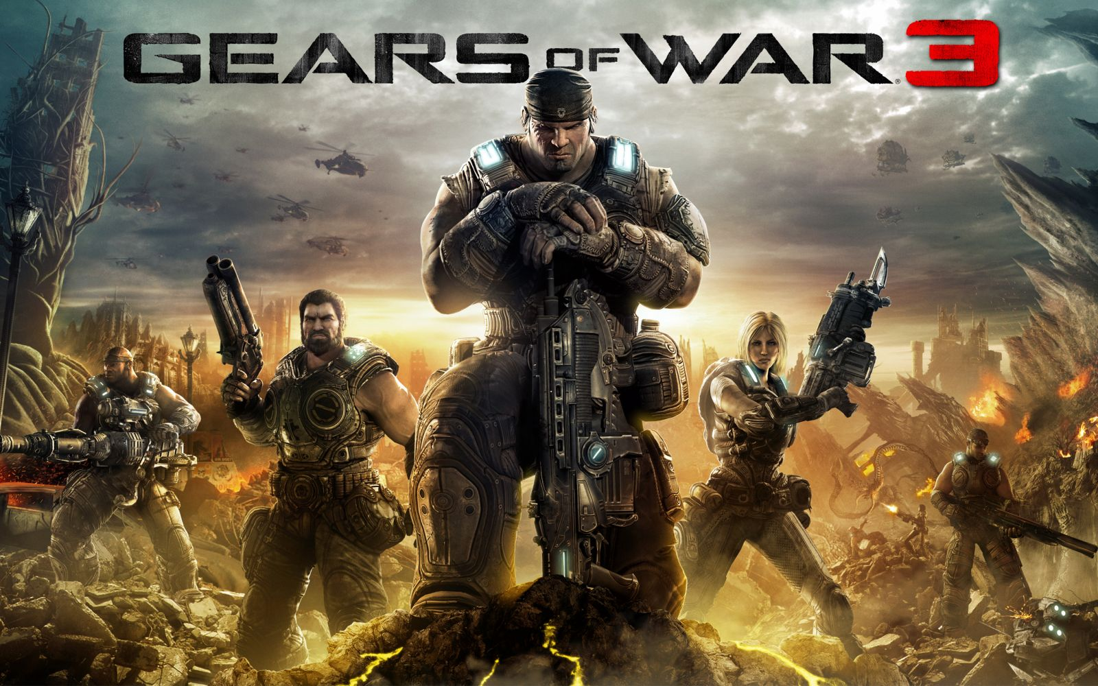 Wallpaper Gears of War 3